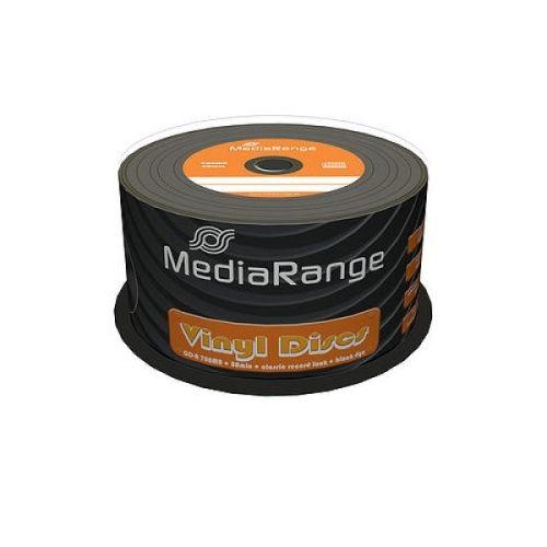 50 St. CD-R Rohlinge, MediaRange, 52x, Vinyl Disc