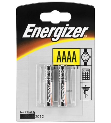 Energizer Piccolo, LR61, E96, AAAA, 2 Stück