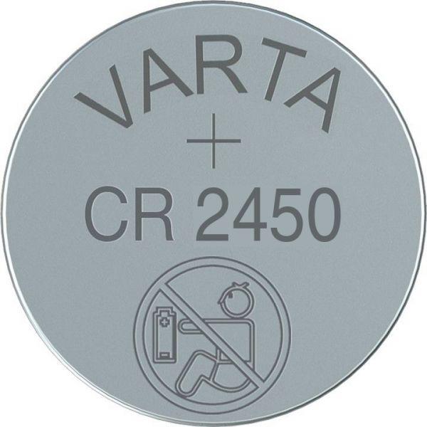 CR2450 (6450) - Lithium-Knopfzelle, 3V Varta