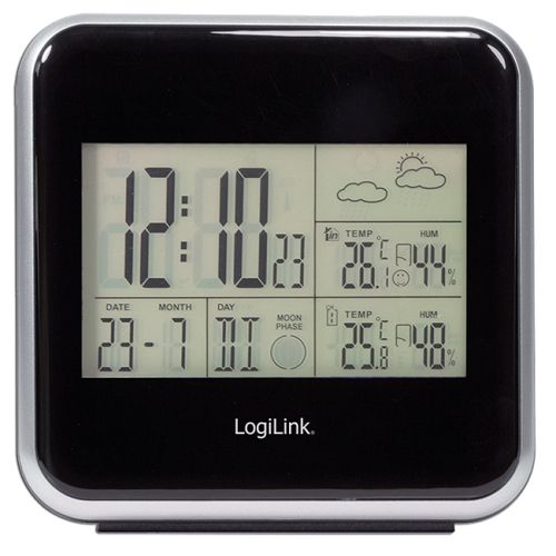 Multifunktions-Wetterstation LogiLink WS0001