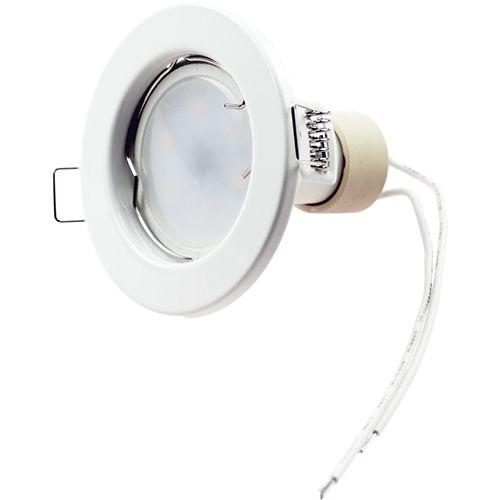 LED Einbaustrahler 5W, 320lm, neutralweiß, rund, starr