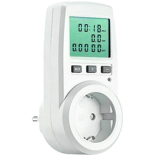 Stromkosten- / Energiekosten-Messgerät mit Multianzeige