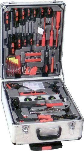 Aluminium-Werkzeug-Koffer 186-teilig