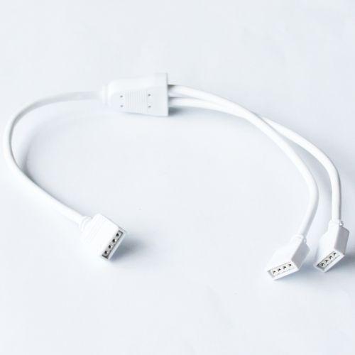LED RGB Splitter Kabel für LED-Stripes, 1 auf 2