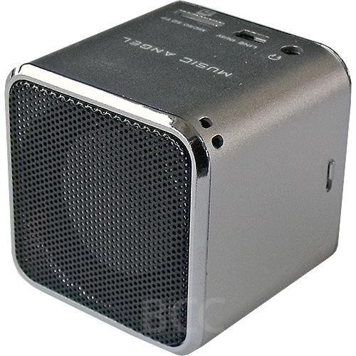 Tragbarer Mini-Lautsprecher/ Mini-MP3-Player, silver