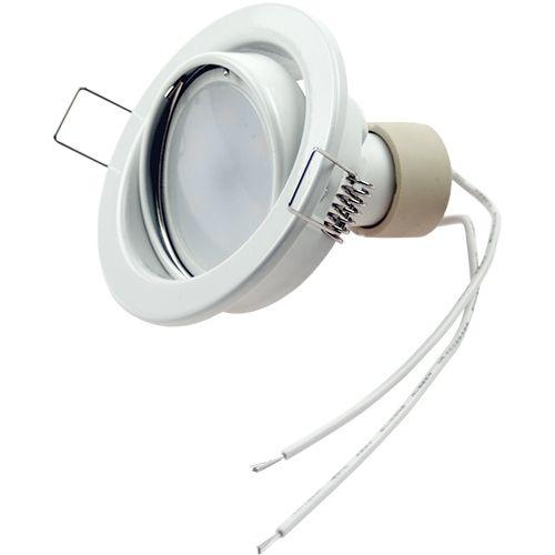 LED Einbaustrahler 5W, 320lm, kaltweiß, rund, schwenkbar
