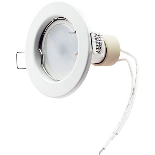 LED Einbaustrahler 5W, 320lm, weiß, kaltweiß, starr