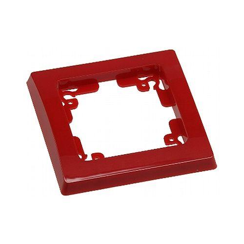 1-fach Rahmen, rot