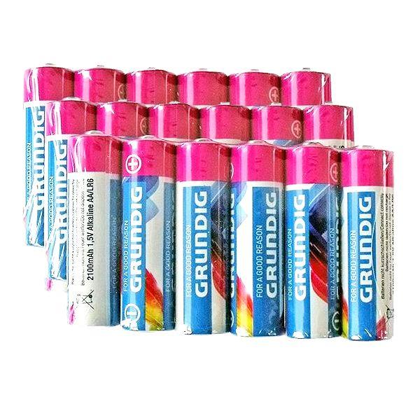 18 St. AA / Mignon Alkaline-Batterien, Grundig