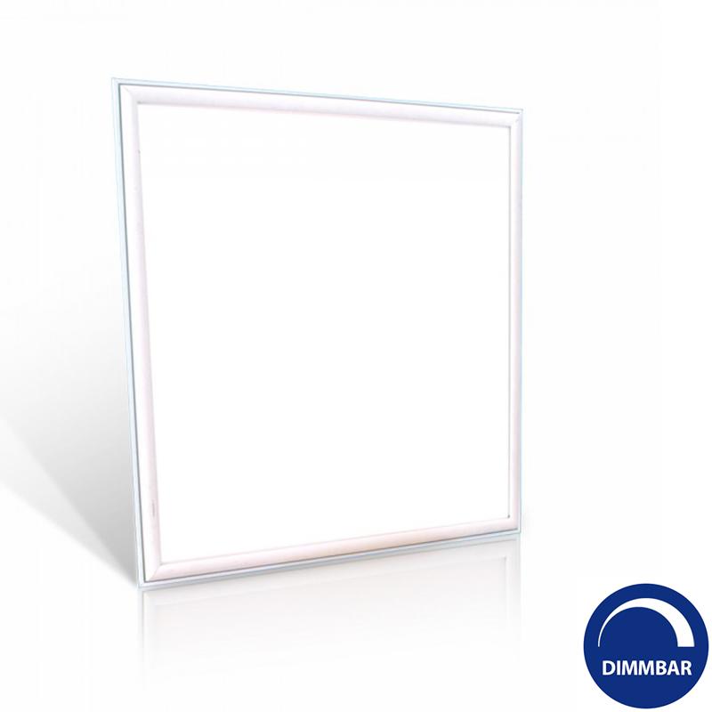 led einbau panel 600x600mm 3600 lumen warmwei dimmbar. Black Bedroom Furniture Sets. Home Design Ideas