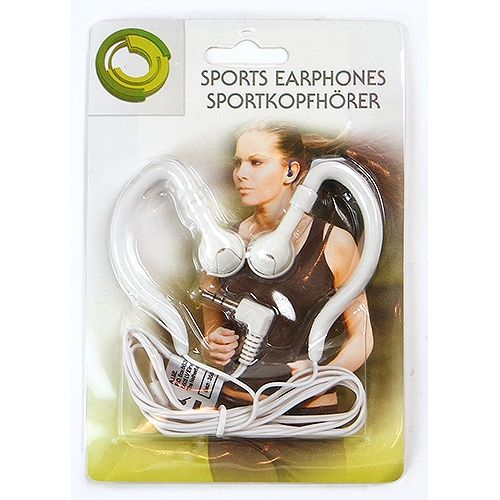 Stereo-Kopfhörer, Sport-Edition, weiß