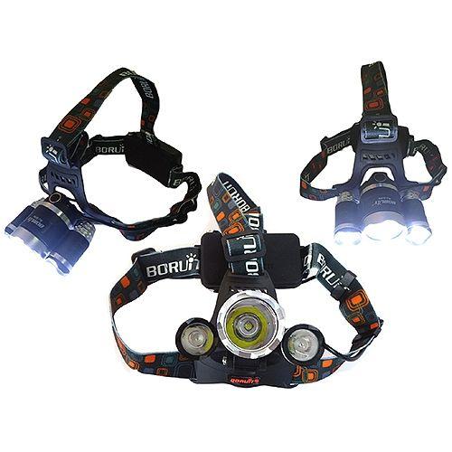 3 CreeLED Profi-Kopflampe - Stirnlampe