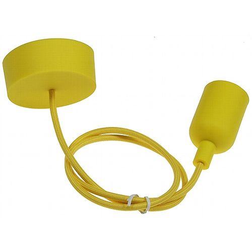 LED Lampe Silikon - Sunshine Yellow - 10 W / 810 Lumen