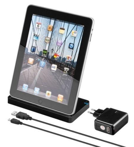 USB Dockingstation (schwarz) für iPad