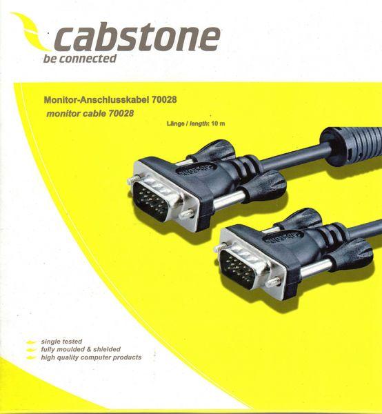 VGA-Kabel, 10m, Stecker - Stecker