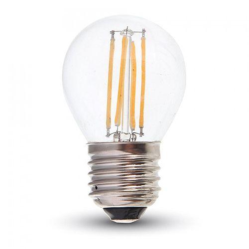 Led Birne E27 4 Watt 400 Lumen Warmweiß G45 Filament Leds Kabikade