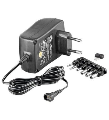 Universal-Netzteil 3-12V / 2,25A / 6 Adapter
