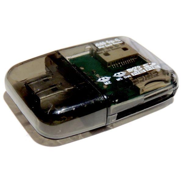 USB 2.0 High-Speed Kartenleser, Transparent