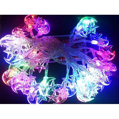 * Lichterkette mit bunten Himmelskörpern - 30 LEDs