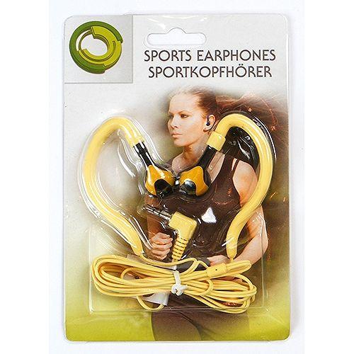 Stereo-Kopfhörer, Sport-Edition, gelb