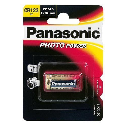 Batterie Lithium Photo CR 123 A Panasonic