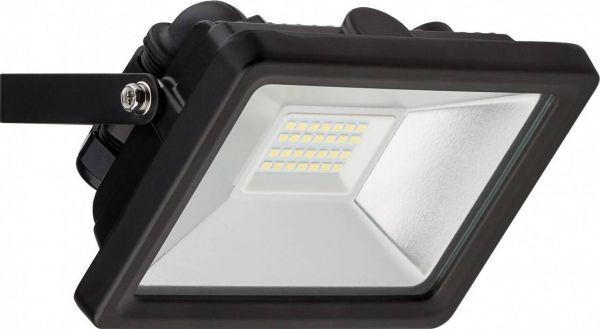 LED-Flutlichtstrahler, 20W / 1650 Lumen, kaltweiß, 6500K, schwarz