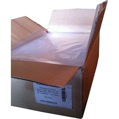 1000 Stück Folienversandtaschen, LPDE-Klappbeutel