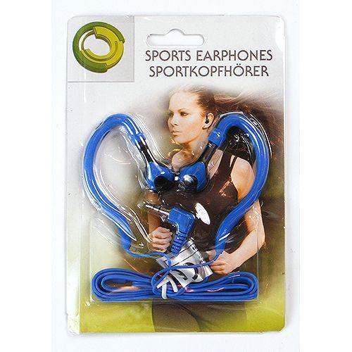Stereo-Kopfhörer, Sport-Edition, blau