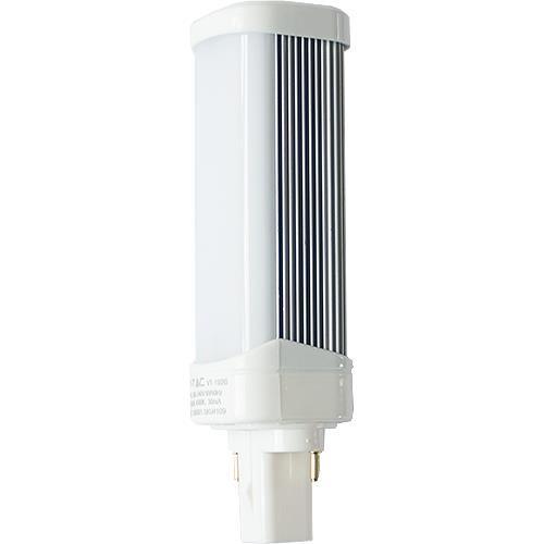 LED Lampe G24, 6W, 480lm kaltweiß